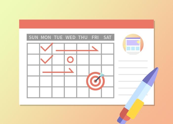 Webサイトの制作期間とスケジュールの立て方について