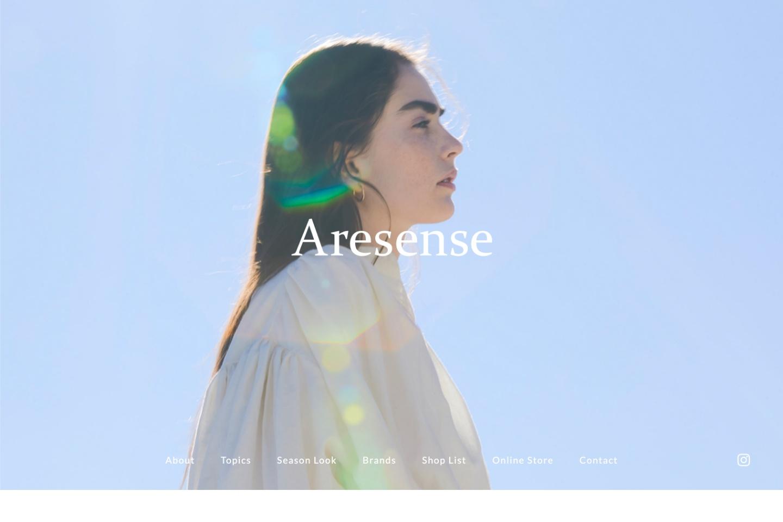 株式会社デイトナ・インターナショナル Aresense ブランドサイト